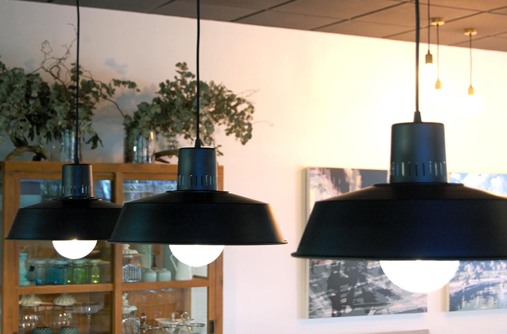 lamparas realizadas por el equipo creativo de sombras